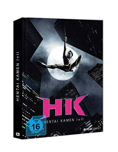 Hentai Kamen - Super Hero - Film 1&2 - Mediabook - [Blu-ray] Limited Edition