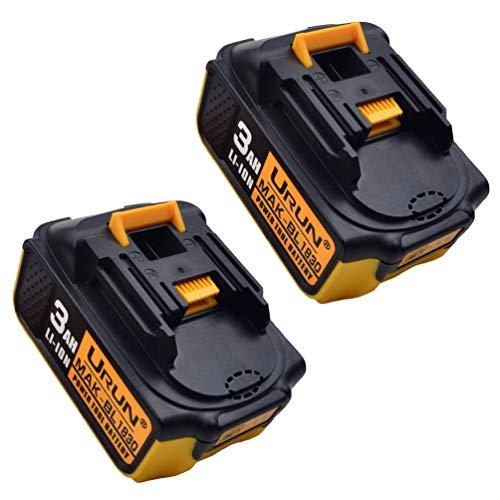 2 stuks 18V 3.0Ah Li-ion reserveaccu voor Makita BL1850 BL1850B BL1860B BL1860 BL1830 BL1830B BL1840 BL1845 BL1815 BL1820 194205-3 LXT-400 18V gereedschap accu draadloze drill Power Tools