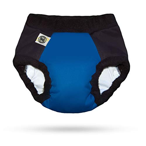 Super Undies Bedwetting Nighttime Underwear Bat Boy (Dark Blue) Size 3 (X Large) 6-9 Yr Old