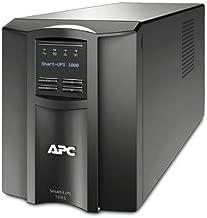 APC SMT1000 - Smart-UPS 1000VA LCD UPS Battery Backup (Renewed)