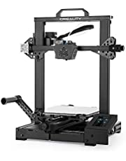 Creality 3D CR-6 SE Upgraded High Precision 3D Printer DIY Kit Printing Size 235 * 235 * 250mm with 4.3in HD Color Touchscreen Silent Motherboard 8G SD Card PLA Sample Fialment Support Auto Leveling