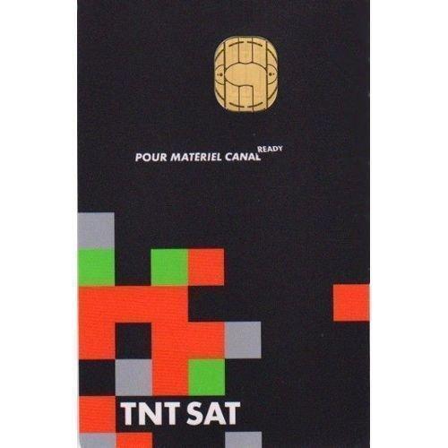 Carte Neuve 4 ans HD et SD satellite decodeur TNTSAT demodulateur TNT SAT...
