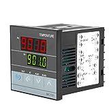 Relè SSR Uscita Termostato Regolatore di temperatura Regolatore di temperatura per riscaldamento a effetto serra Raffreddamento Controllo uscita relè Sensore PT100 tipo K