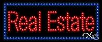 11x 27x 1cm不動産アニメーション点滅LEDウィンドウサイン