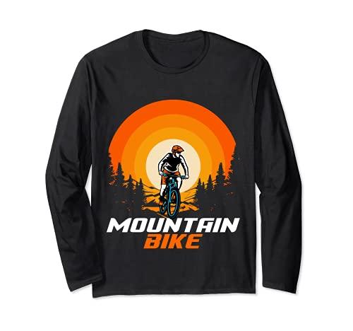 Bicicleta de montaña Retro Manga Larga