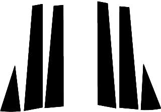 Rvinyl Rtrim Pillar Post Decal Trim for Chevrolet Impala 2000-2005 - Gloss (Black)