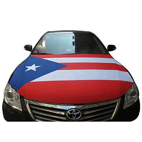 Puerto Rico Car Hood Cover