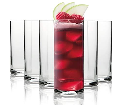 Pasabahce Berlin vasos de long drink / 260 ml / conjunto de 6 / gafas de alta...