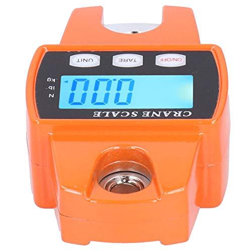 Socobeta Escala electrónica de aleación de Aluminio Escala Digital portátil 300 kg Escala de grúa de Peso Ligero Herramientas de medición de Peso