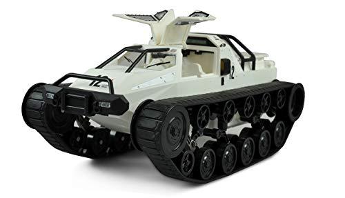 Amewi 22438 weiß Ketten-Drift-Fahrzeug 1:12 RTR
