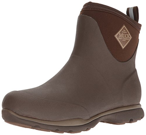 Muck Boot mens Arctic Excursion Ankle Snow Boot, Brown, 15-15.5 US