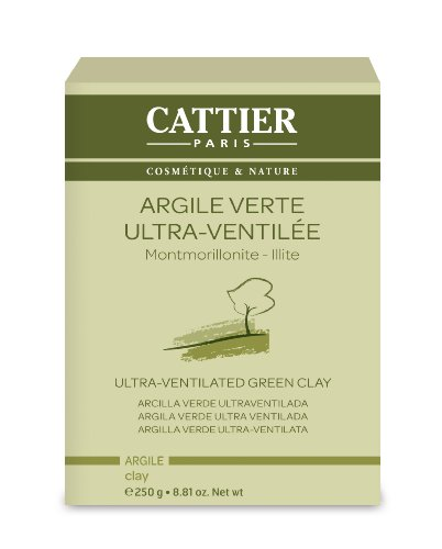 Cattier Vrac Argile Verte Ultra Ventilée 250 g Lot de 2