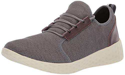 Dr. Scholl's Shoes Tênis masculino Revive, Grey Eco Knit, 8.5