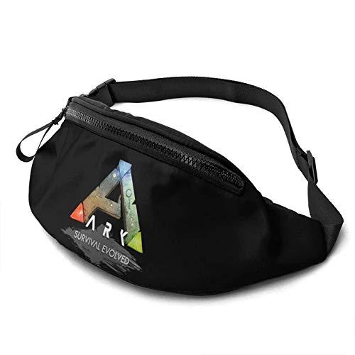 baowen Ark Survival Evolution Benutzerdefinierte Unisex Running Waist Packs Lässige Taillentasche, Wandersport Gürteltaschen für Männer Frauen tragen