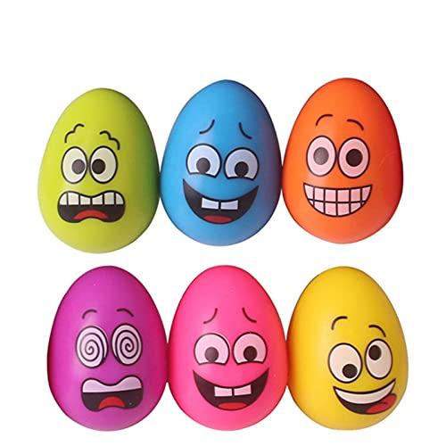 Bolas de huevo duraderas para perros, juguete para entrenamiento de mascotas, masticar dientes molares, cachorro resistente a las mordeduras, bonitos juguetes de bolas de rebote de goma natural sólida