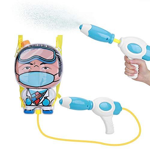 Juguete de pistola de agua, 1.5-1.8L Mochila ajustable Mochila Juguete de pistola de agua, Tipo de tracción Juguete de pistola de agua para niños Mochila de juguete Pistola de agua Juguete