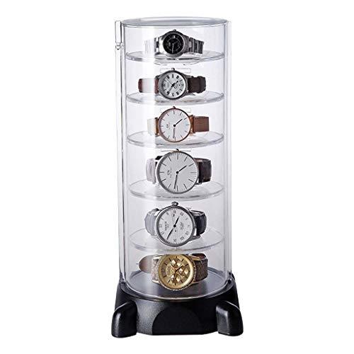 6 Bilden HaustüR Uhr Aufbewahrungsbox Schlichtes Armband Finishing-Box Anzuzeigen Box