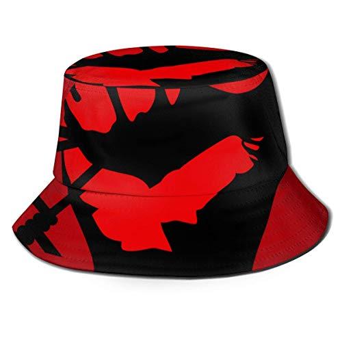 JHGFG Gorras Generales para Hombres y Mujeres Algodón Sombrero de Pes