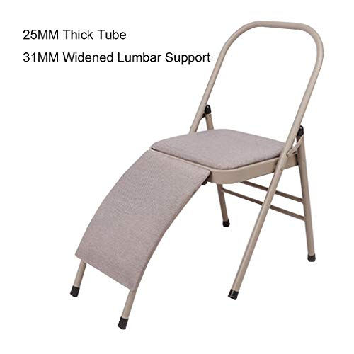 For Sale! Folding Yoga Chair, Inverted Auxiliary Equipment, Bold Stainless Steel 22MM, 25MM. 31MM Wi...