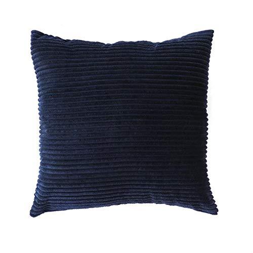 Funda de Almohada Almohada Cuadrada Funda de cojín Decoración de Pana Almohadas para sofá Sala de Estar Coche Almohadas Decorativas Decoración nórdica para el hogar Funda de Almohada para sofá