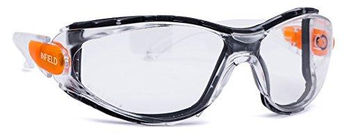 Infield Schutzbrille Matador klar beschlagfrei, antistatisch, kratzresistent