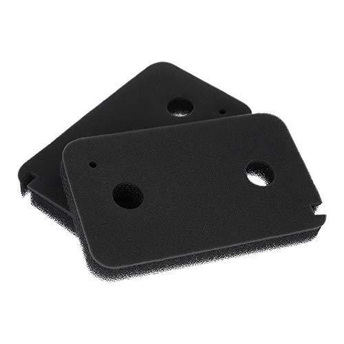 2 x Schwammfilter Schaumstoff Filter Schaumfilter für Wärmepumpentrockner Trockner Miele 9499230 T8861WP T 8164 WP