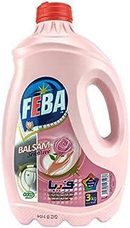 Feba Liquid Dish Cleaner With Balsam Sensitive , 3 kg