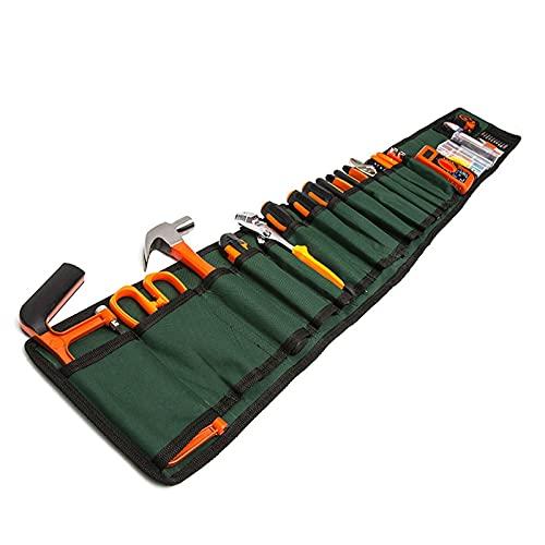 kit de herramientas con taladro 51 Conjuntos de Hardware Hardware Hardware Herramienta Mano Bolsa de tela Multi- Tool Portátil Multi- Tool Multifunción Combinación Bolsa caja de herramientas se