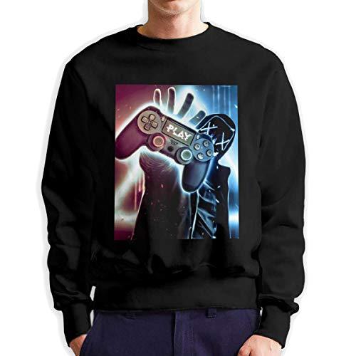 Sunwan Neon Gamer Sleeve Lange Shirt Top Tops Casual Sweatshirt Blouse Tee Shirts Tees Classic Crewneckpatchwork korte tiener grote blouses