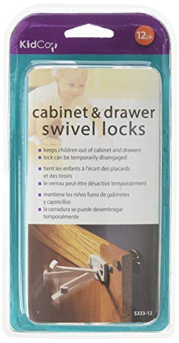 KidCo 12 Count Swivel Cabinet and Drawer Lock