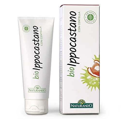 Naturando - Loción Bio Castaño de indias 75 ml - Crema para Piernas Hinchadas y Pesadas y Couperose
