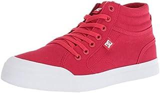 DC Youth Evan Hi TX (Little) Skate Shoe Red 6 M US Big Kid [並行輸入品]