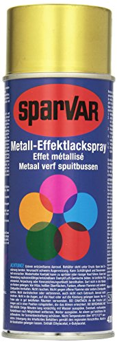 SparVar Lackspray Metalleffekt Messing, 400 ml, matt, 6022024