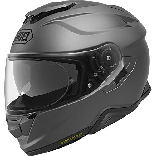 Shoei GT Air 2 Llanura Matt Deep Gris Casco De Motocicleta Talla XL