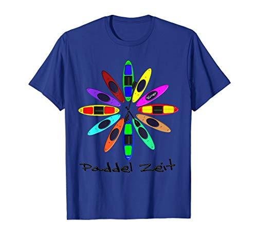 Kanu, Kajak, Kanadier und Paddeln, Paddel Zeit Shirt.Kayak T-Shirt