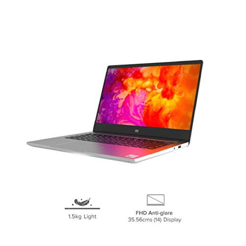 Mi Notebook 14 Intel Core i5-10210U 10th Gen Thin and Light Laptop(8GB/512GB SSD/Windows 10/Nvidia MX250 2GB Graphics/Silver/1.5Kg), XMA1901-DG+Webcam