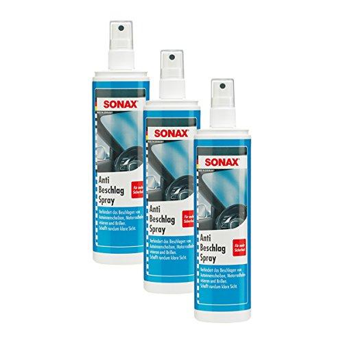 SONAX 3X 03550410 AntiBeschlagSpray KlarSicht 300ml