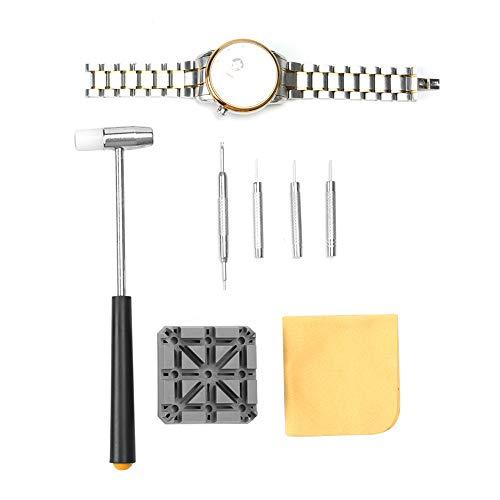 腕時計バンド調整 バンド調整工具 時計 ベルト 交換 修理 工具 サイズ調整 時計工具 バネ外し メンテナンス専用工具 時計用工具清掃用品 時計修理ツール
