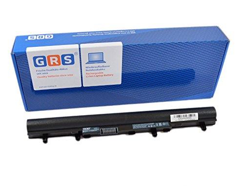 GRS Batterie pour Acer Aspire V5, remplacé: AL12A32, 4ICR17/65, Laptop Batterie 2200mAh 14,8V