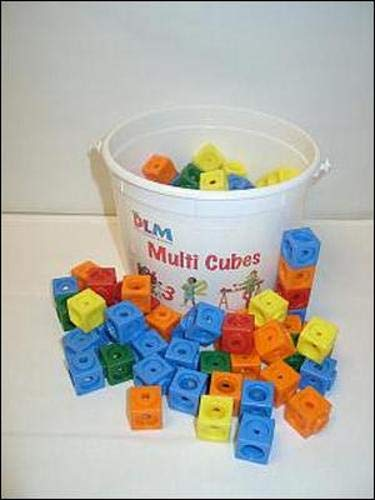 Additional Resources for the Dlm Early Childhood Program - Set of Multi-Cubes