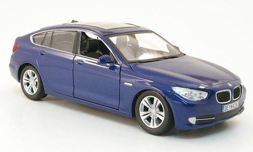 BMW 535i GT, met.-blau, Modellauto, Fertigmodell, Mondo Motors 1:24