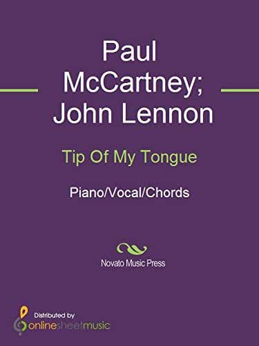 Tip Of My Tongue (English Edition)
