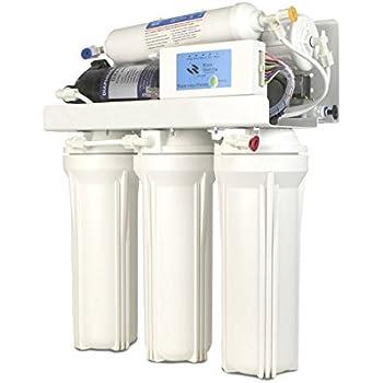 YATEK Sistema de Osmosis inversa doméstica B de 5 etapas de filtrado, con Tanque de almacenaje de 12 litros: Amazon.es: Electrónica
