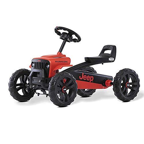 Berg Pedal Gokart Buzzy Jeep Rubicon | Kinderfahrzeug, Tretauto, Sicherheid und Stabilität, Kinderspielzeug geeignet für Kinder im Alter von 2-5 Jahren