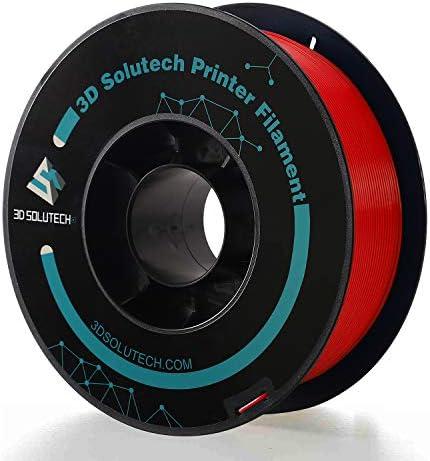3D Solutech PREPLARED Real Red 3D Printer Premium PLA Filament 1 75MM Filament 2 2 LBS 1 0KG product image