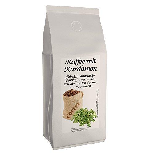 C&T Aromakaffee - Aromatisierter Kaffee Gemahlen - Kardamom 500 g - Privatrösterei Spitzenkaffee Flavoured Coffee