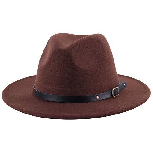 (50% OFF) Women's Wide Brim Wool Fedora Hat $8.50 – Coupon Code
