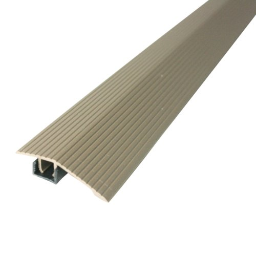 """M-D Building Products 43319 M-D Reducer Flute with Snap Track, Aluminum, 36"""""""