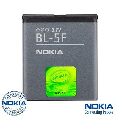 NOKIA BL-5F Original N95 N96 N93i E65 6710 6290 6210 N 950mAh