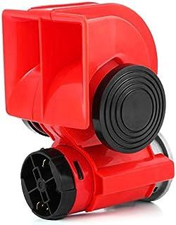 Peanutaso 12V / 24V Universal Snail Air Horn High Power Loud Car Sirena eléctrica para automóviles Camión Moto Vehículo Motocicleta Accesorios